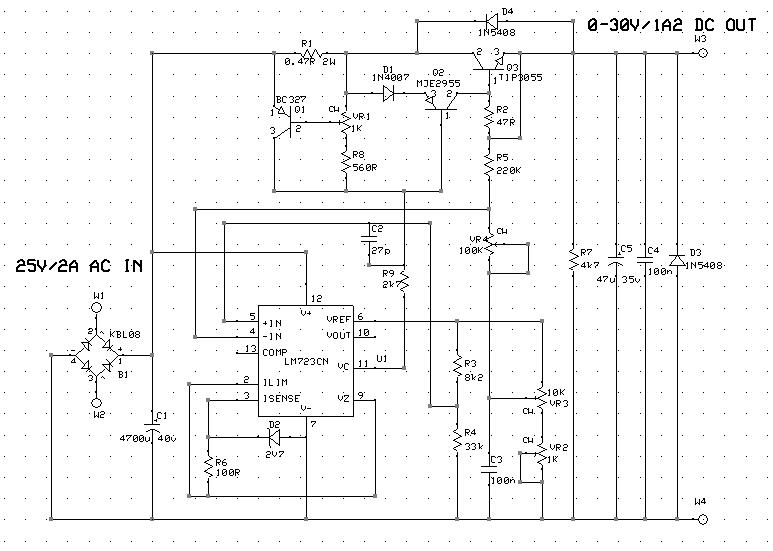 bench 0 30v 0 1a2 psu (part 1) linear regulator pcb hobbylad's blog regulated power supply schematics 0 30v power supply circuit diagram #28
